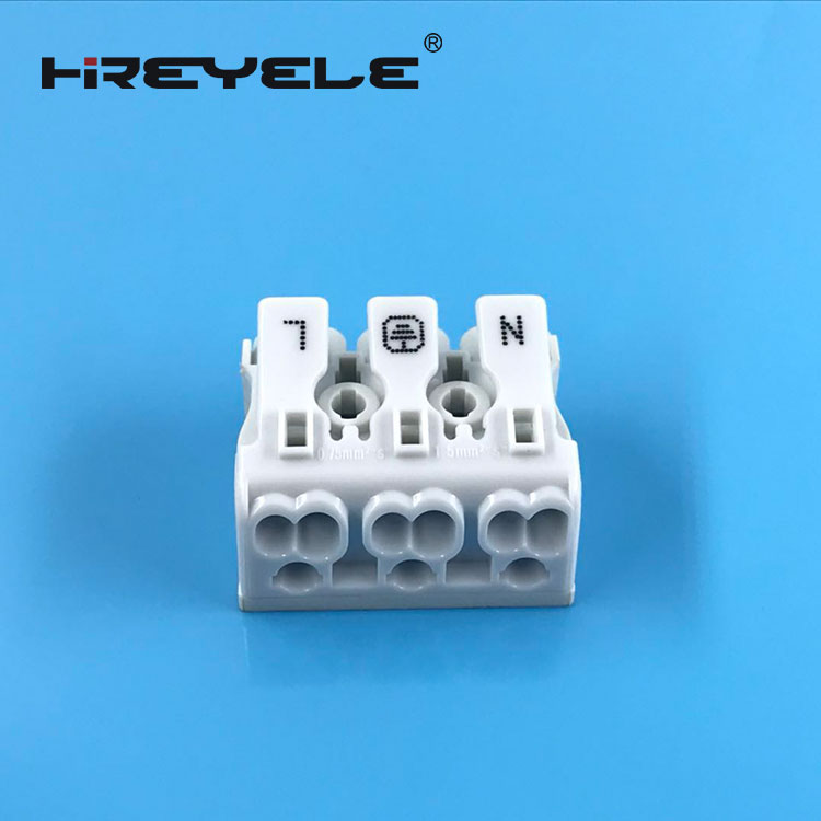 3Pin LED Wire Connectors Wago 923 Push Wire connector