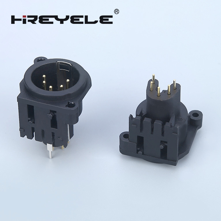 audio video socket cable 3 pin XLR connector