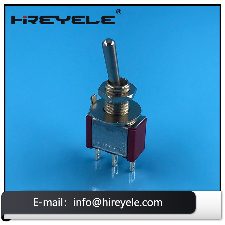 SPDT 3 PIN Mini Toggle Switch With Soldering Terminal