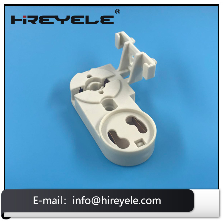 G13 Non-shunted Lamp Socket For LED And Fluorescent Tube Lights