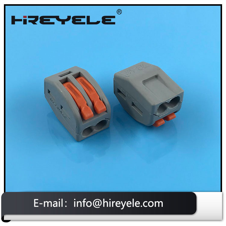 Made in China 222-412 LEVER-NUTS 2 Conductor Compact Connectors