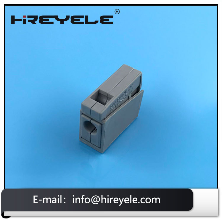 Wago 224-101 Lighting Connector Pushwire to Cage Clamp