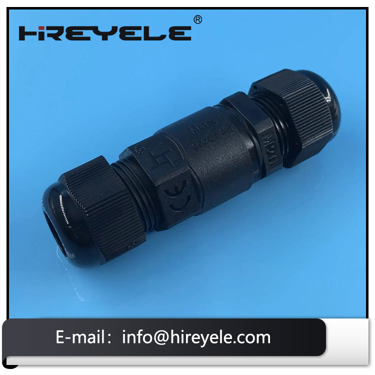 IP68 Waterproof Cable Connector For Outdoor Lighting