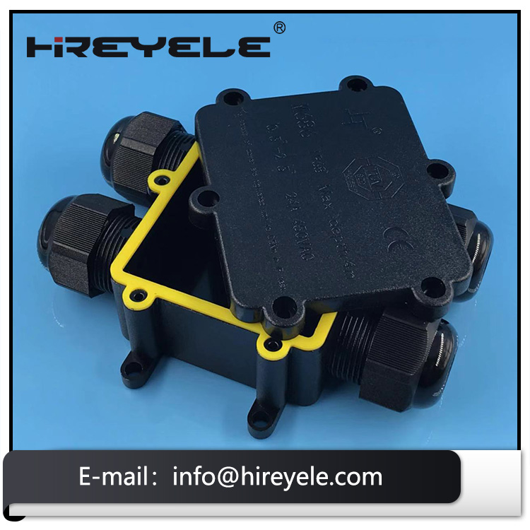 H Type IP68 Waterproof Electrical Junction Box For Outdoor Lighting
