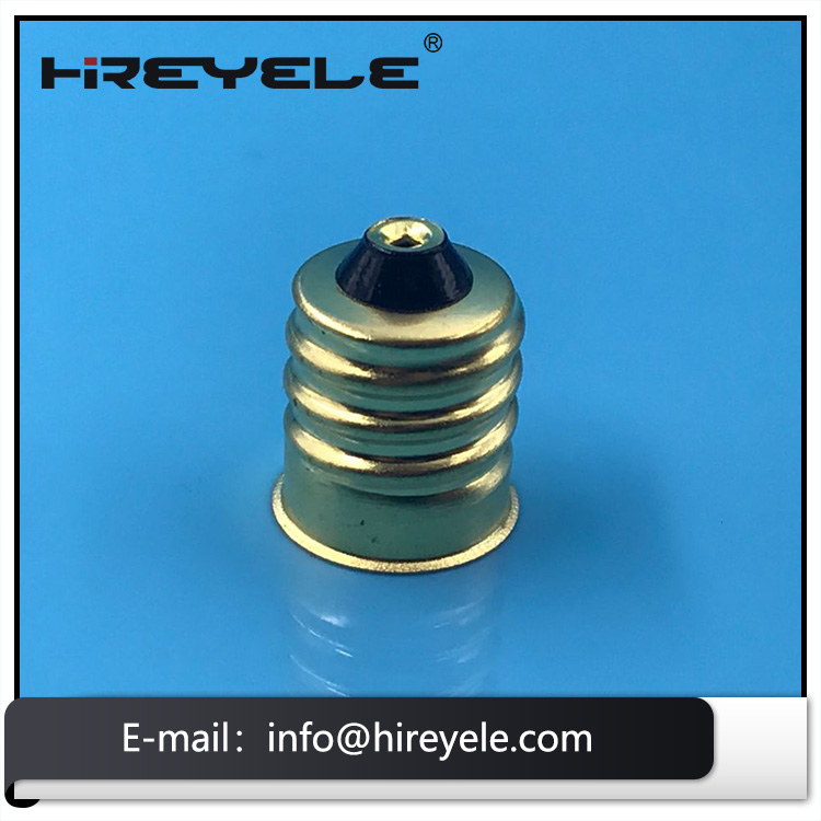 E12 Screw Light Lamp Holder With Body Material Copper