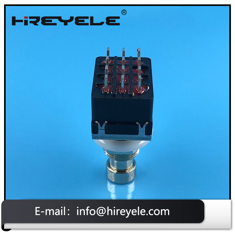 12Pin 4PDT Momentary Foot Pedal Switch