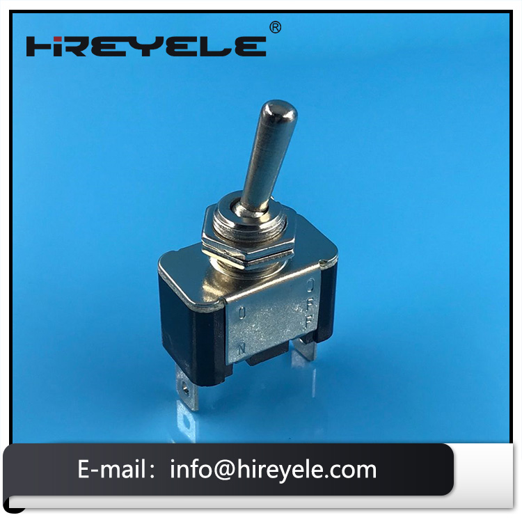 SPST 2 Pin Single Pole ON OFF Toggle Switch