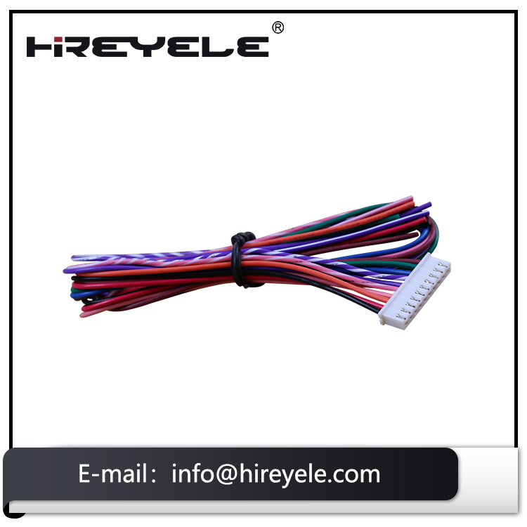 Custom 10 Pin Electrical JST 2MM Pitch Wire Harness Manufacturer