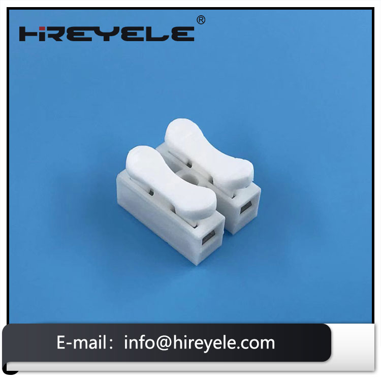 2Pin Electrical Cable Connectors Quick Splice Lock Wire Terminals Self Locking