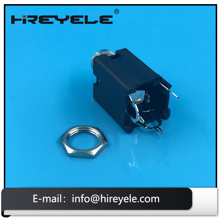 Audio Tube Amp Guitar Female Stereo 6.35mm Jack Socket Connector