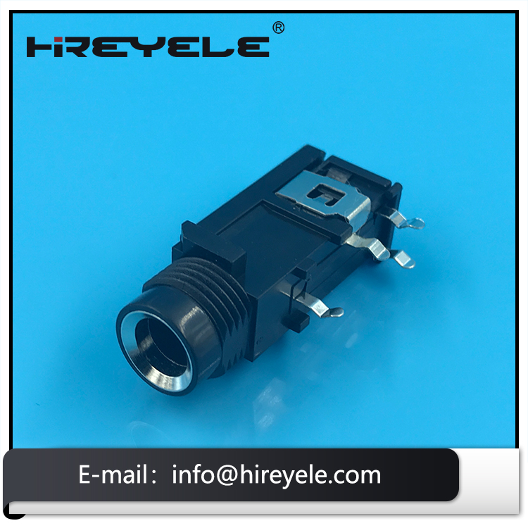 Generic Video 6.35mm Audio Microphone Jack Socket Connector