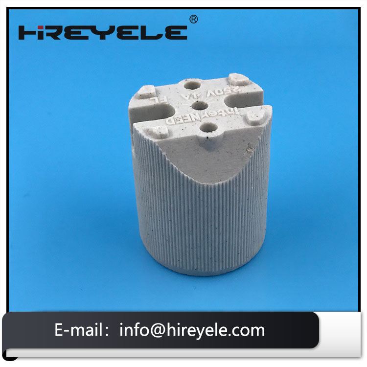 250V 660W Ceramic Lamp Holder E27