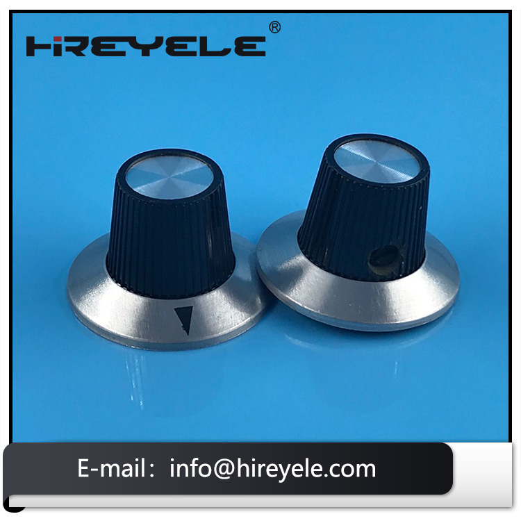 Effect Pedal Turning Knobs With Chrome Cap