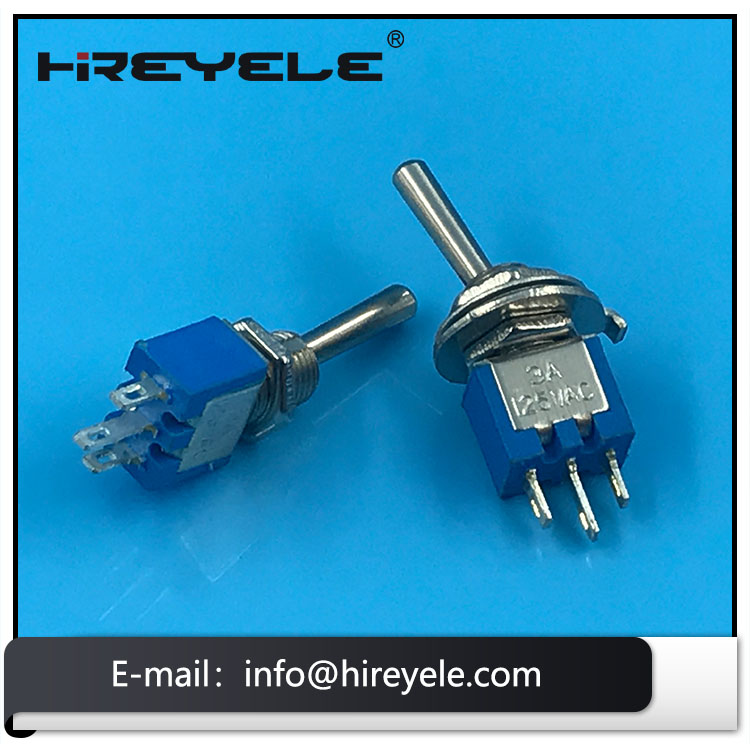 5MM 3 Pin ON-ON 2 Position Momentary SPDT Toggle Switch 12V