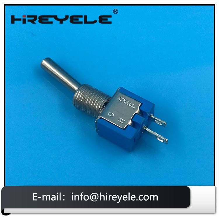 3A 125V Single Pole 2 Pin SPST ON OFF Toggle Switch