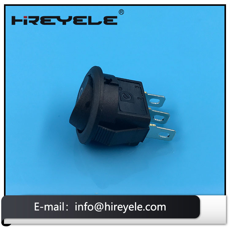 KCD5 Round Rocker Switch T125 55