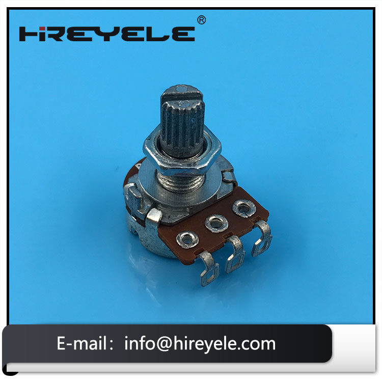 100K Single Electric Guitar Potentiometer With Switch