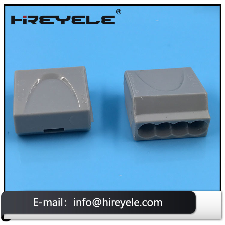 4 Pole Female Wire Connector Terminal Lighting