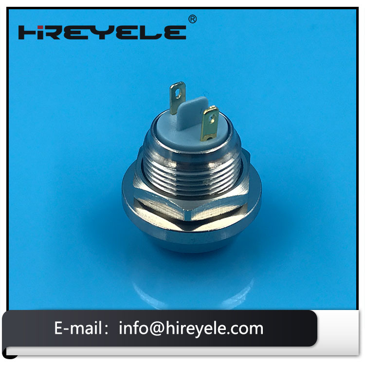 12MM Round Push Button Switch Waterproof 220V