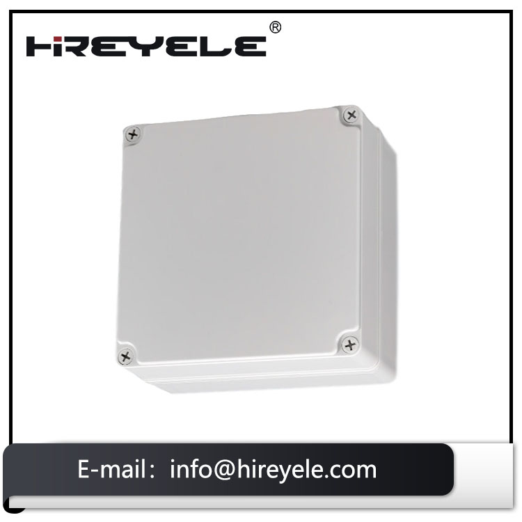 CE ROHS IK08 IP67 Protection Level ABS Plastic Waterproof Outdoor Switch Box Enclosure