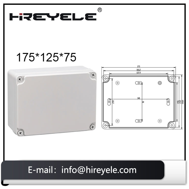 ABS Material IP67 Protection Level Waterproof Junction Box