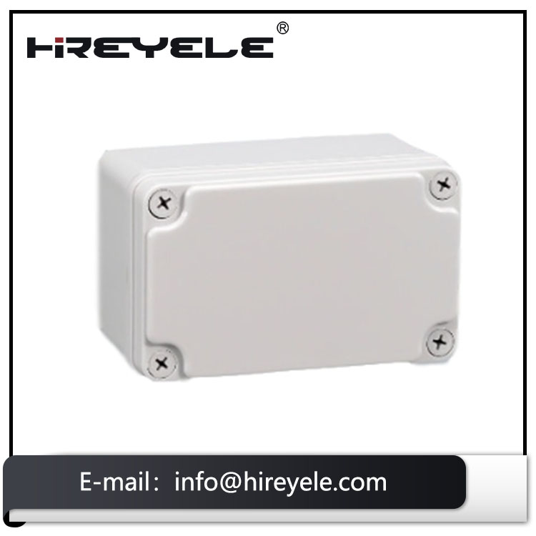 ABS Material IP67 Protection IK08 Waterproof CCTV Electrical Junction Box For EV Charging Cables
