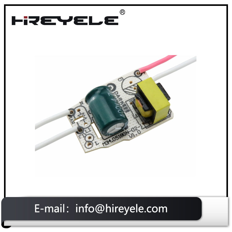 250mA 20W Non-Isolated LED Driver Constant Current Bulb Light Driver