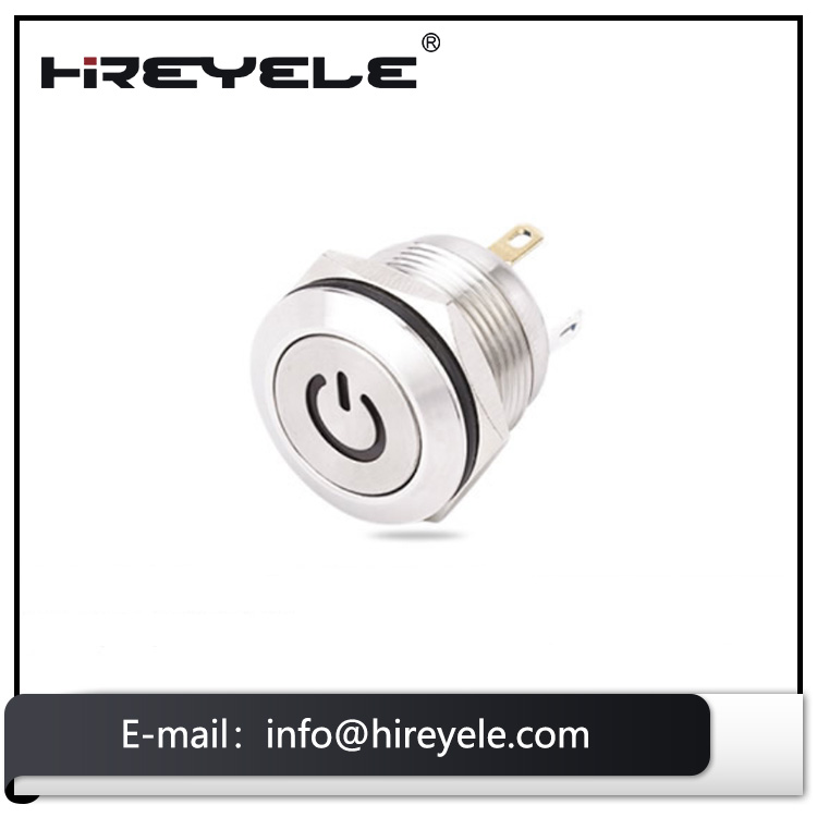 Wholesale 25mm illuminated momentary push button switch